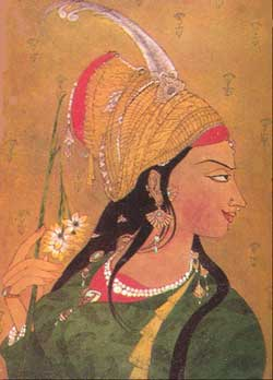 Anarkali: painting by A. R. Chughtai